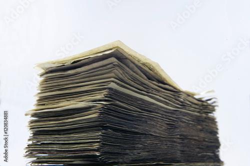 Fotografie, Obraz  Stack of Cash