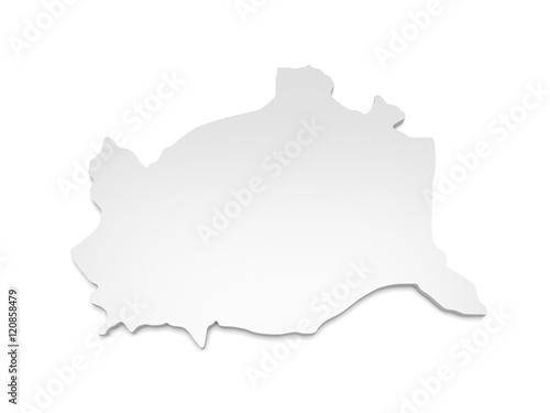 3d Karte Osterreich.3d Illustration Karte Osterreich Wien Buy This Stock