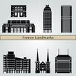 Fresno landmarks and monuments