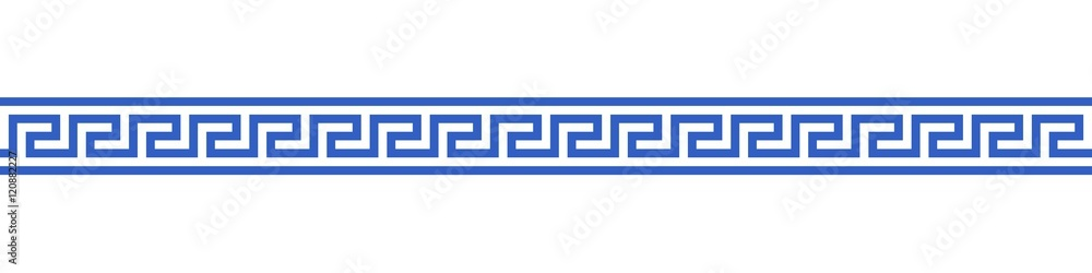 Fototapeta Bannière méandres grecs. (5)