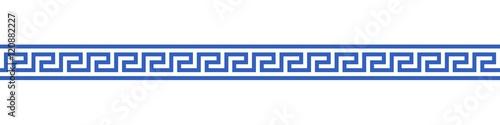 Photo Bannière méandres grecs. (5)