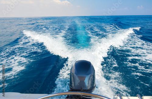 Photo Boat engine