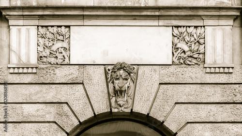 Vászonkép  Lion Keystone