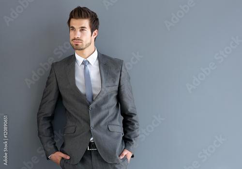Fotografie, Tablou  Elegant man posing