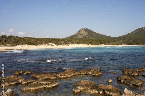 Spoed Foto op Canvas Noordzee Felsenküsten am Mittelmeer