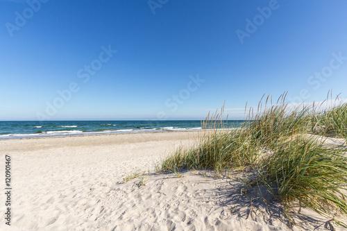 Fotobehang Noordzee Urlaub am Meer
