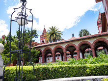 Flagler College In St Augustine, The Oldest City In Florida In The United States Of America.