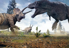 3D Rendering Of Tyrannosaurus ...