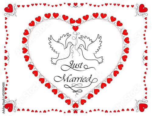 Hochzeit herz spruch ausschneiden Hochzeitsherz