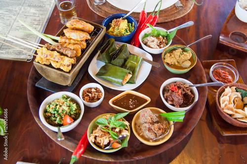 Foto op Plexiglas Japan Delicious meal of Bali