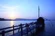 東郷湖の夕日