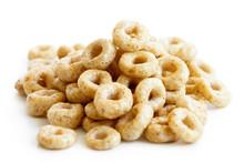 Heap Of Honey Cheerios Isolate...
