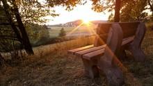 Sonnenuntergang An Einem Idyll...