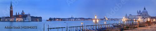 Poster Venice Venice Pier 2 Maggiore Santa Maria Rise