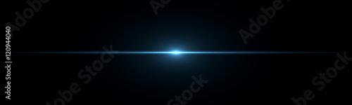 Photo  Beautiful light flares. Glowing streaks on dark background