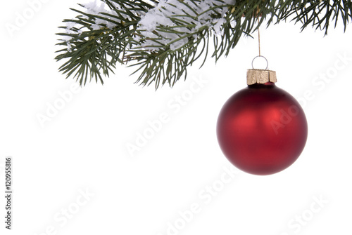 Fotografie, Obraz  Red ornament