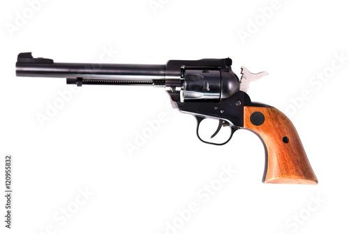 Fotografia, Obraz  Old six shooter