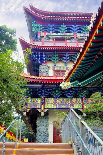 Наружная стена храма По Линь на острове Лантау Tablou Canvas