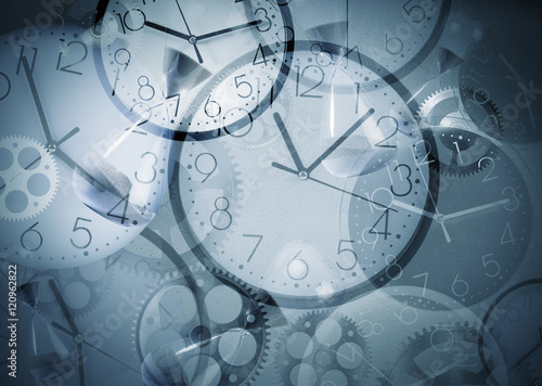 Fotografie, Obraz  Clock background