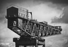 Shipbuilding Crane In Glasgow
