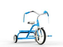 Blue Tricycle - Studio Shot