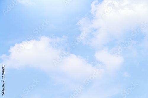 Foto op Plexiglas Hemel blue sky and cloud beautiful Colorful in nature background