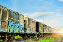 Train Old, Unused.