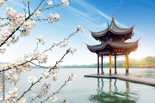 Photo  China Hangzhou West Lake Landscape