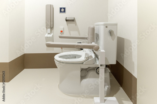 Fotografie, Obraz  障害者用トイレ