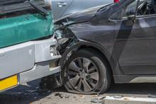 Car Accident, Bumper To Bumper