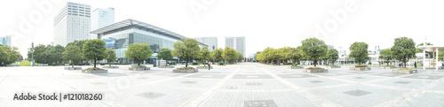 Fototapeta 国際展示場駅前広場(東京ビックサイト周辺) obraz