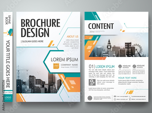 green abstract shape poster portfolio layout design city design on