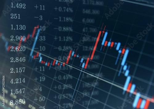 ビジネスイメージ 金融 チャート