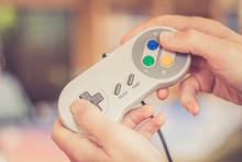 Game Controller Retro In Männ...