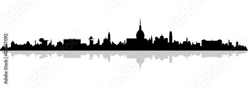 Fototapeta Skyline Turin obraz