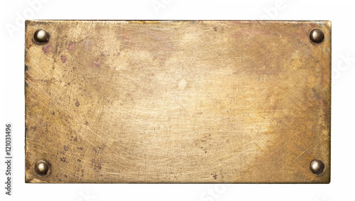 Metal plate texture Canvas Print