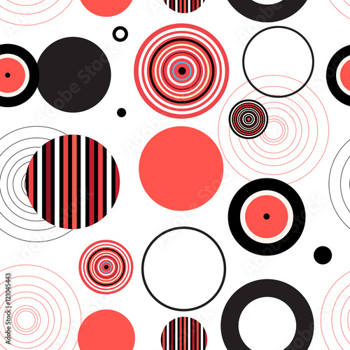 Abstract seamless pattern - 121045443