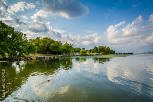 Fotografie, Obraz  The Potomac River, in Alexandria, Virginia.