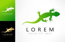 Lizard Vector Logo