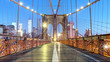 Brooklyn Bridge, NYC, nobody