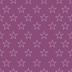 Abstract pattern with stars
