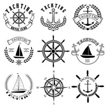 Yachting Club Labels. Yacht Cl...