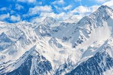 Winter Landscape In Alps