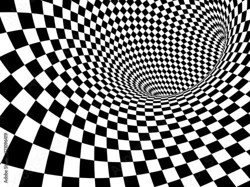 Abstract illusion - 121096419