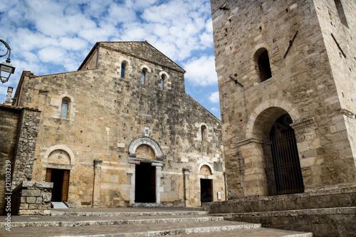 Cattedrale di Anagni Canvas Print