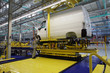 Yelabuga, Russia - May 16, 2008: The launch vehicle assembly lin