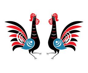 Illustration of Rooster