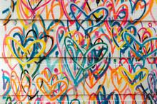 Bright Graffiti On The Wall