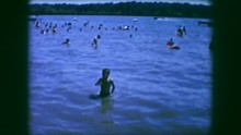 1961: Family And Children Swim...