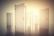 Many Ways To Choose From, Open Doors. Decision Making
